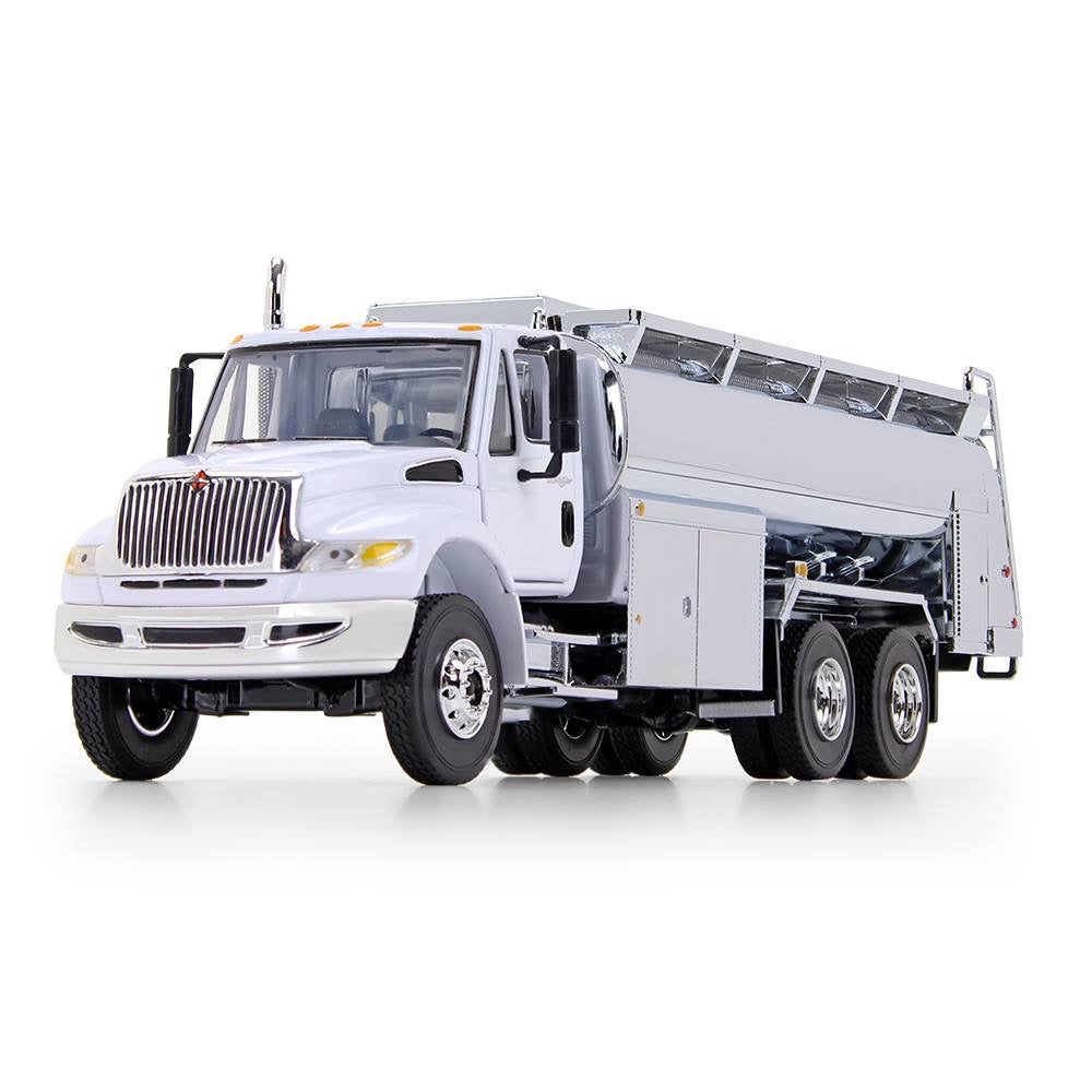 1/50 First Gear International Durastar Fuel Truck - White