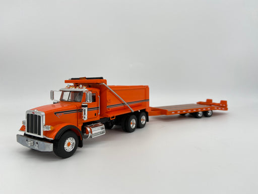 First Gear Peterbilt 367 w/ Tag Trailer NO BOX