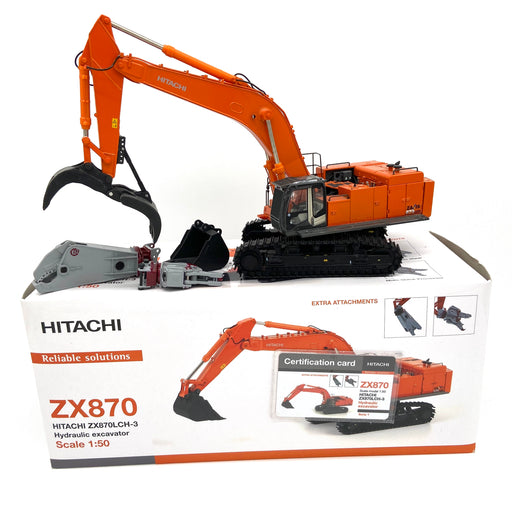 Hitachi 870 w/ Attachments