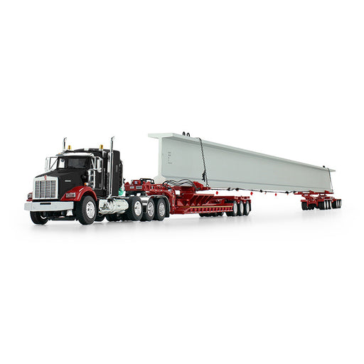*DEPOSIT* DCP Kenworth T800 w/ Fontaine Beam Hauler Trailer - Red/Black