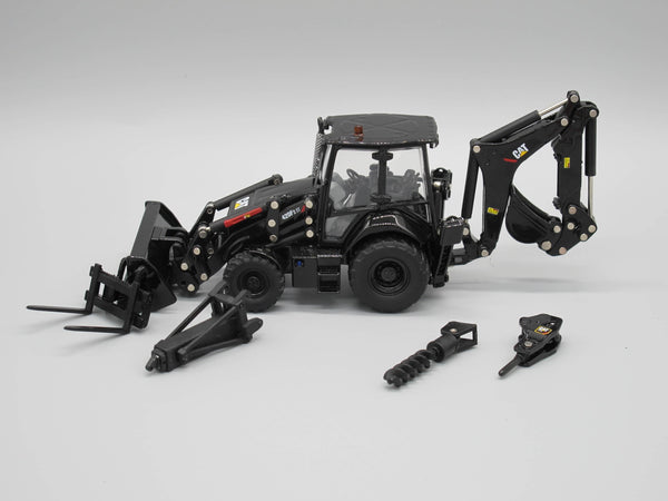 1/50 Scale Cat 420F Backhoe - Special Black Finish