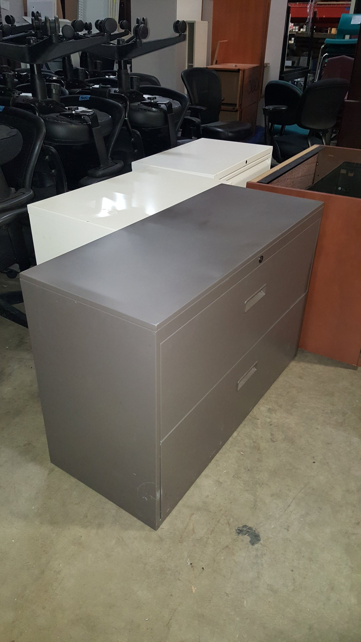2 Drawer Lateral File Cabinet Used Office Furniture In Plymouth