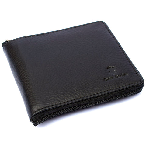 Leather Wallet Full Zip Around
