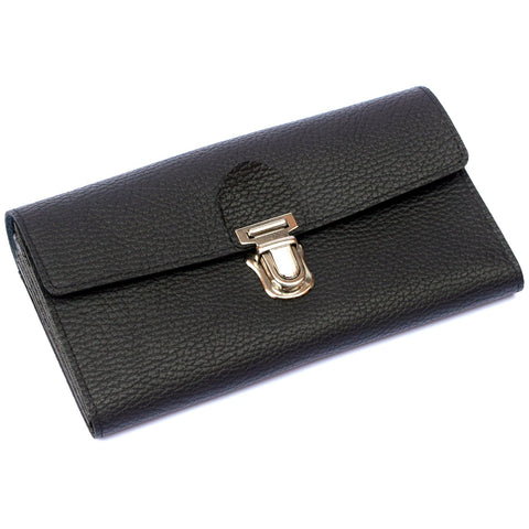 Leather Money Purse with Belt Attach