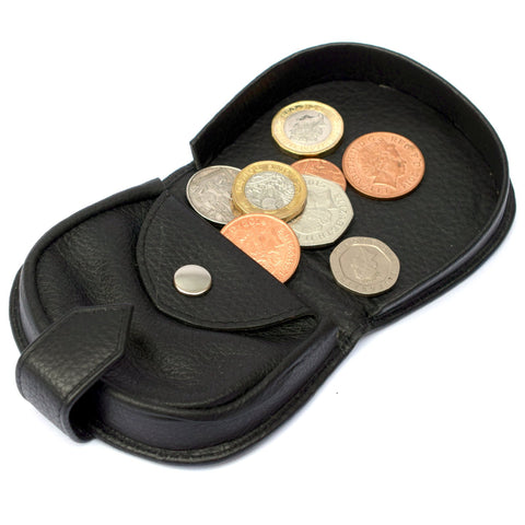 Leather Coin Tray with Press Stud