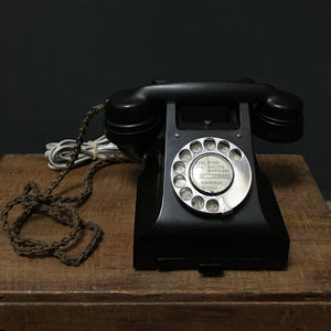 SOLD - Original Bakelite Telephone - in working order