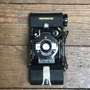 SOLD - Vintage Kershaw Eight-20 Penguin Camera with Leather Case