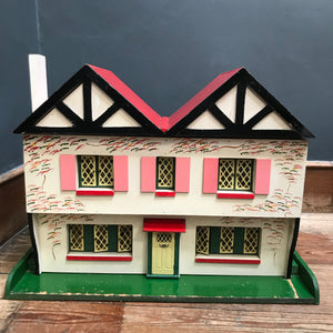 Vintage Wooden Dolls House