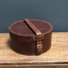 SOLD - Edwardian Leather Collar Box