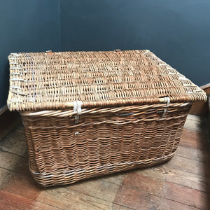 SOLD - Wicker Trunk