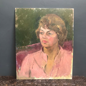 NEW - Original Oil Painting Portrait of Lady