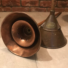 SOLD - Copper Washing Dolly/Toilet Roll Holder