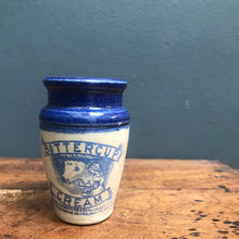 NEW - Small Vintage Buttercup Cream Jar