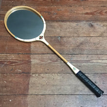 SOLD - Vintage Badmington Racket Mirror