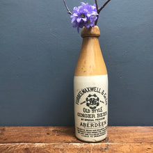 SOLD - Vintage Aberdeen Stoneware Ginger Beer Bottle