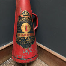 SOLD - Minimax Fire Extinguisher