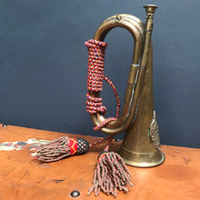 SOLD - Vintage Argyll & Sutherland Copper & Brass Military Bugle