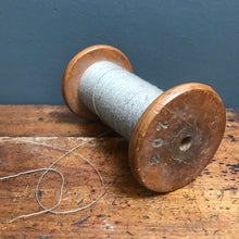 SOLD - Vintage Dovecot Studios Wooden Bobbin Mill with Cotton