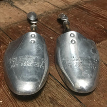 SOLD - Pair Metal Shoe Lasts