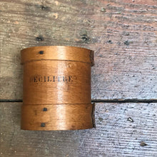 SOLD - Vintage French Grain Measure