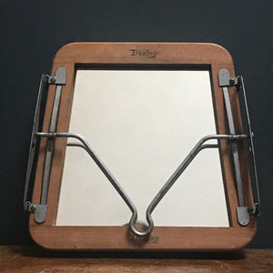 "SOLD - Vintage ""Dunlop"" Tennis Racket Stretcher Mirror"
