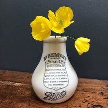 "SOLD - Vintage ""Boots"" Ceramic Inhaler Bottle"
