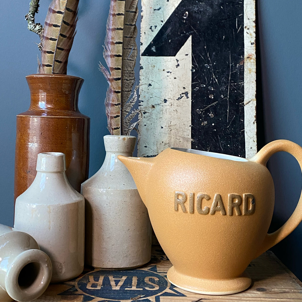 SOLD - Vintage French Ricard Jug