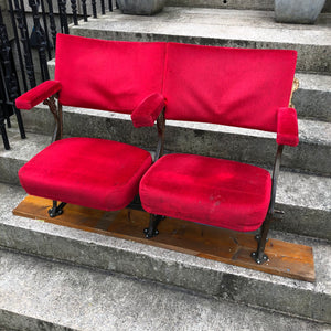 SOLD - 1930's Art Deco Oxford Theatre Seats