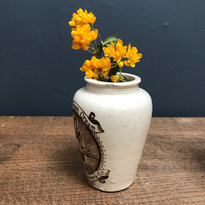 SOLD - Vintage Stranraer Cream Jar
