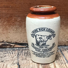 SOLD - Vintage Huntly Creamery Jar
