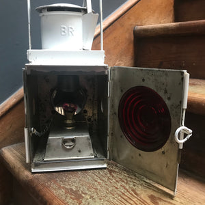 NEW - Antique British Railway Oil Lantern photo 6 | PamPicks