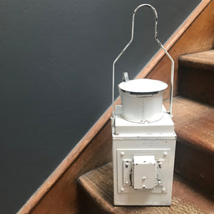 NEW - Antique British Railway Oil Lantern photo 5 | PamPicks