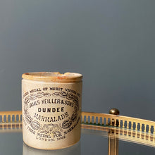 NEW - Antique James Keiller & Sons Marmalade Jar