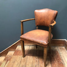 NEW - Vintage Leather Armchair