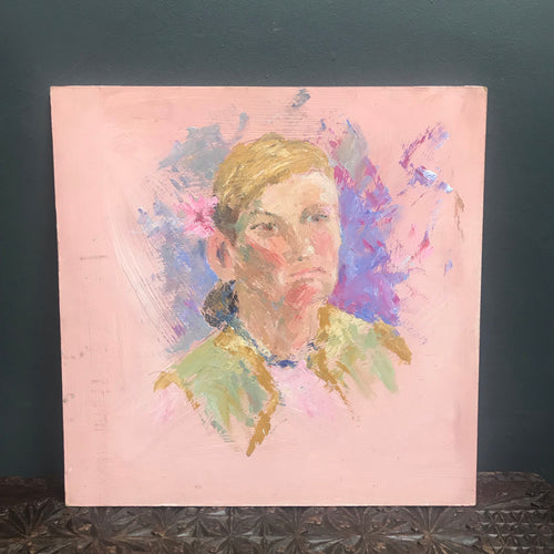 NEW - Original Oil Painting Portrait of Woman