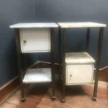 SOLD - Vintage French Marble & Brass Dentist/Medical Table
