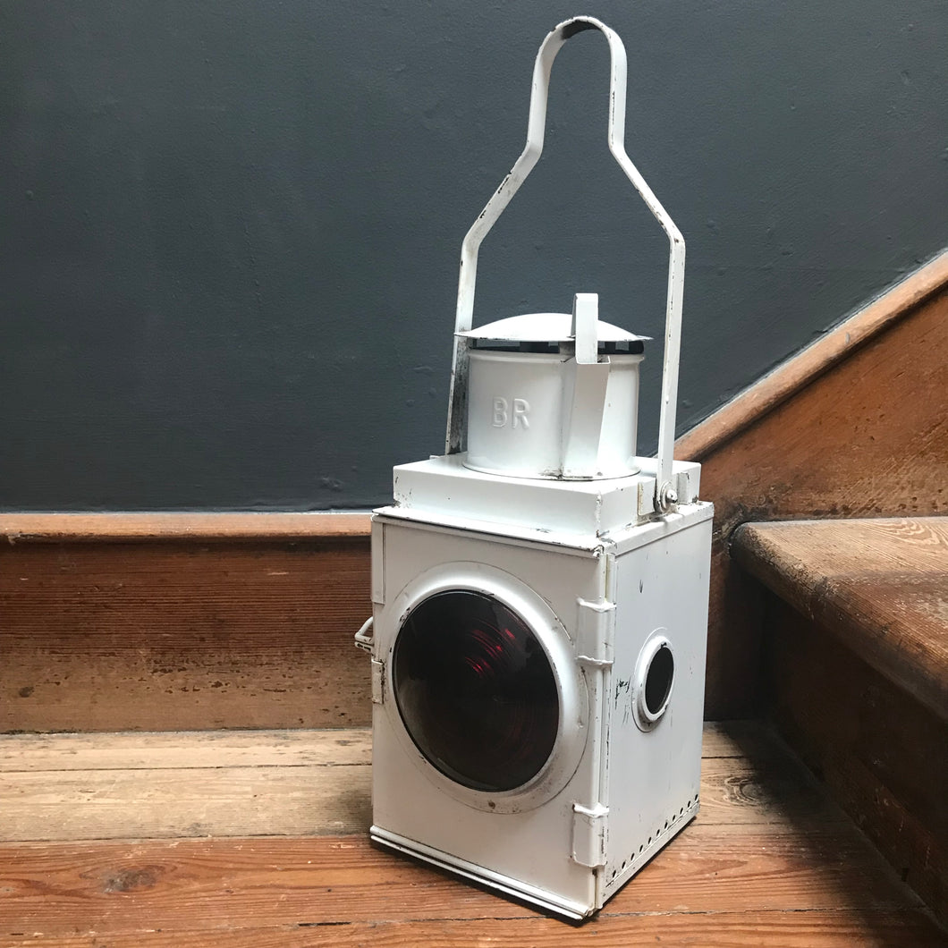 NEW - Antique British Railway Oil Lantern | PamPicks