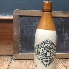 SOLD - Vintage Hays & Sons Aberdeen Stoneware Ginger Beer Bottle