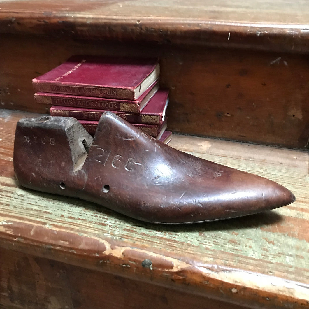 SOLD - Vintage Wooden Shoe Last