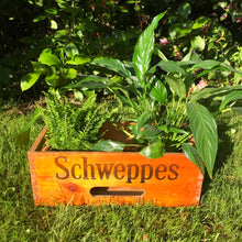 SOLD - Vintage Wooden Schweppes Lemonade Crate