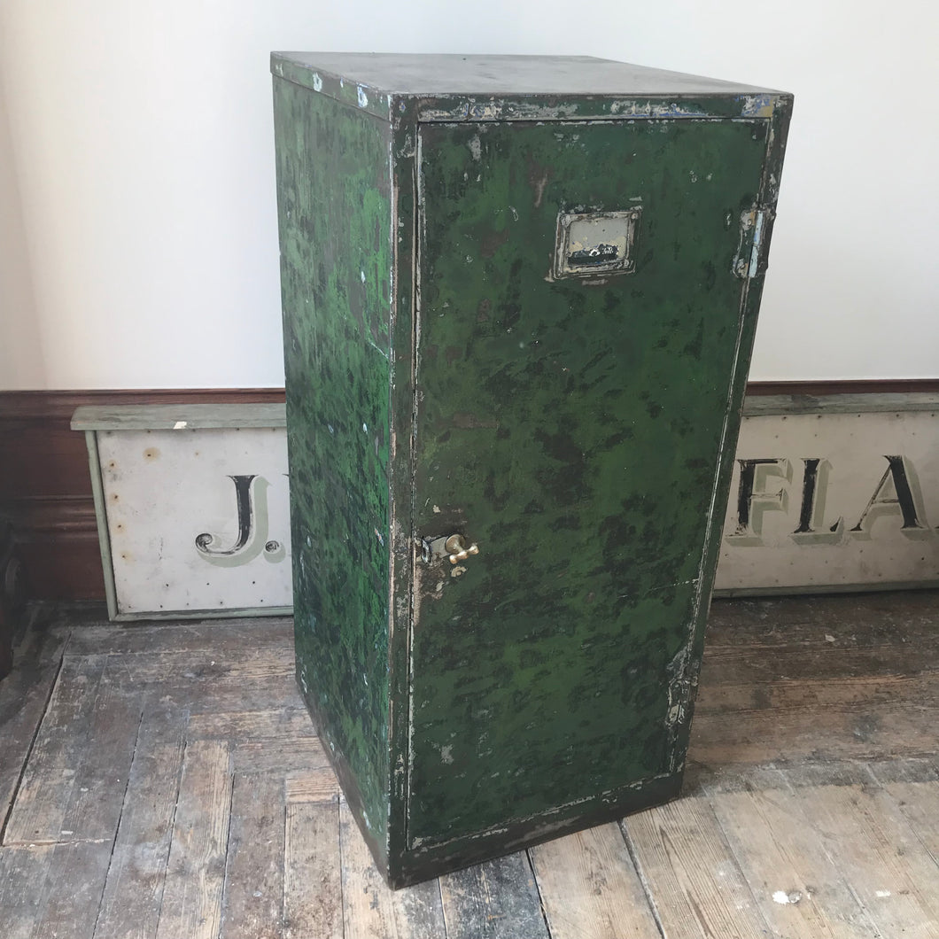 SOLD - Industrial Metal Cabinet