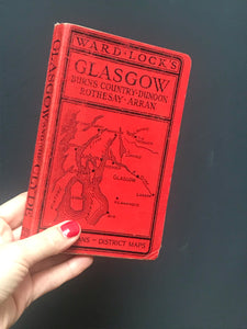 SOLD - Ward Lock Glasgow Book