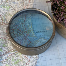 NEW - Vintage Brass Magnifying Lens