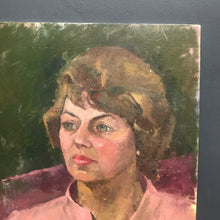 SOLD - Original Oil Painting Portrait of Lady