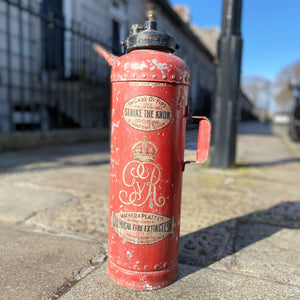 NEW - Vintage Mather & Platt Fire Extinguisher