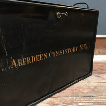 SOLD - Metal Deed Box: Aberdeen Consistory No. 13