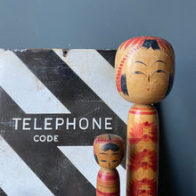 NEW - Enamel Railway 'Telephone Code' Sign