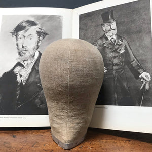 NEW - Vintage Wig Makers Hat Head 54