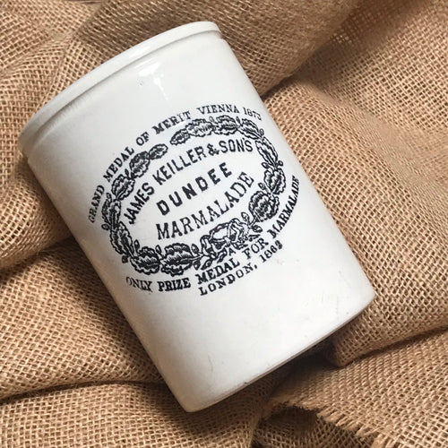NEW - Large Vintage James Keiller & Sons Marmalade Jar