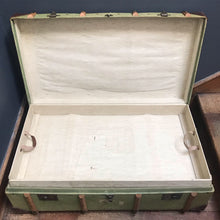 NEW - Vintage Steamer Travel Trunk